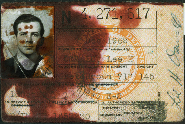 Lee Harvey Oswald Military ID