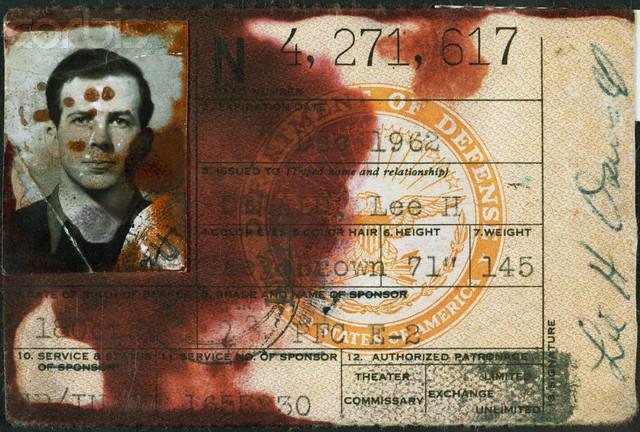 Lee Harvey Oswald Military ID
