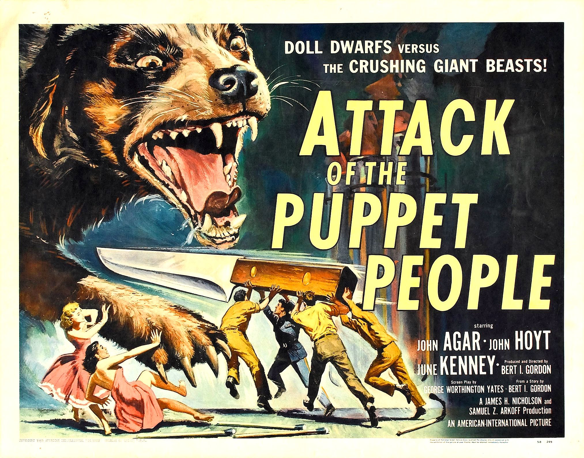 Puppet Man attackpuppetpeople