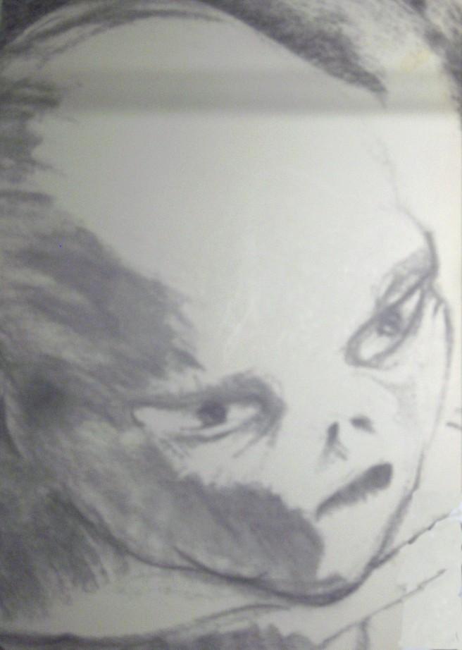 TheUFOStalkers Alien drawing