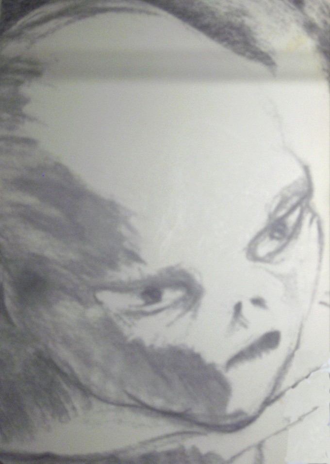 TheUFOStalkers Alien drawing