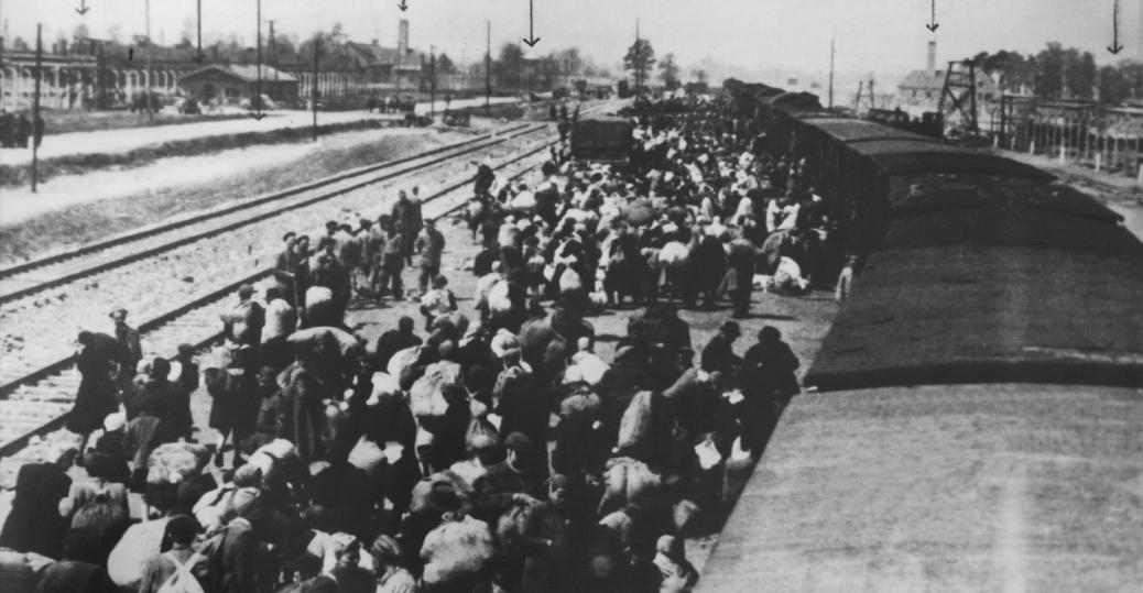 TheAnunnakiAnd jews-arriving-auschwitz-P