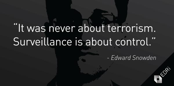 Iamtheeyeinthesky quote (httpsedri.orgsnowden-surveillance-control ) Snowden