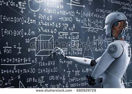 Photos Extra Robot Drawing ( httpspixabay.comenphotosartificialintelligence ) stock-photo--d-rendering-robot-learning-or-solving-problems-680929729