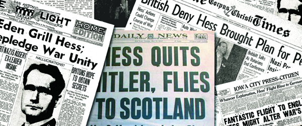 Nazi Hess Secrets News Hess opener