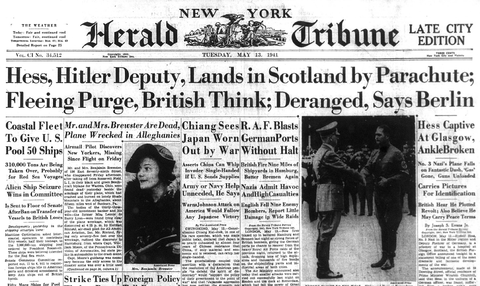 Nazi Hess Secrets News